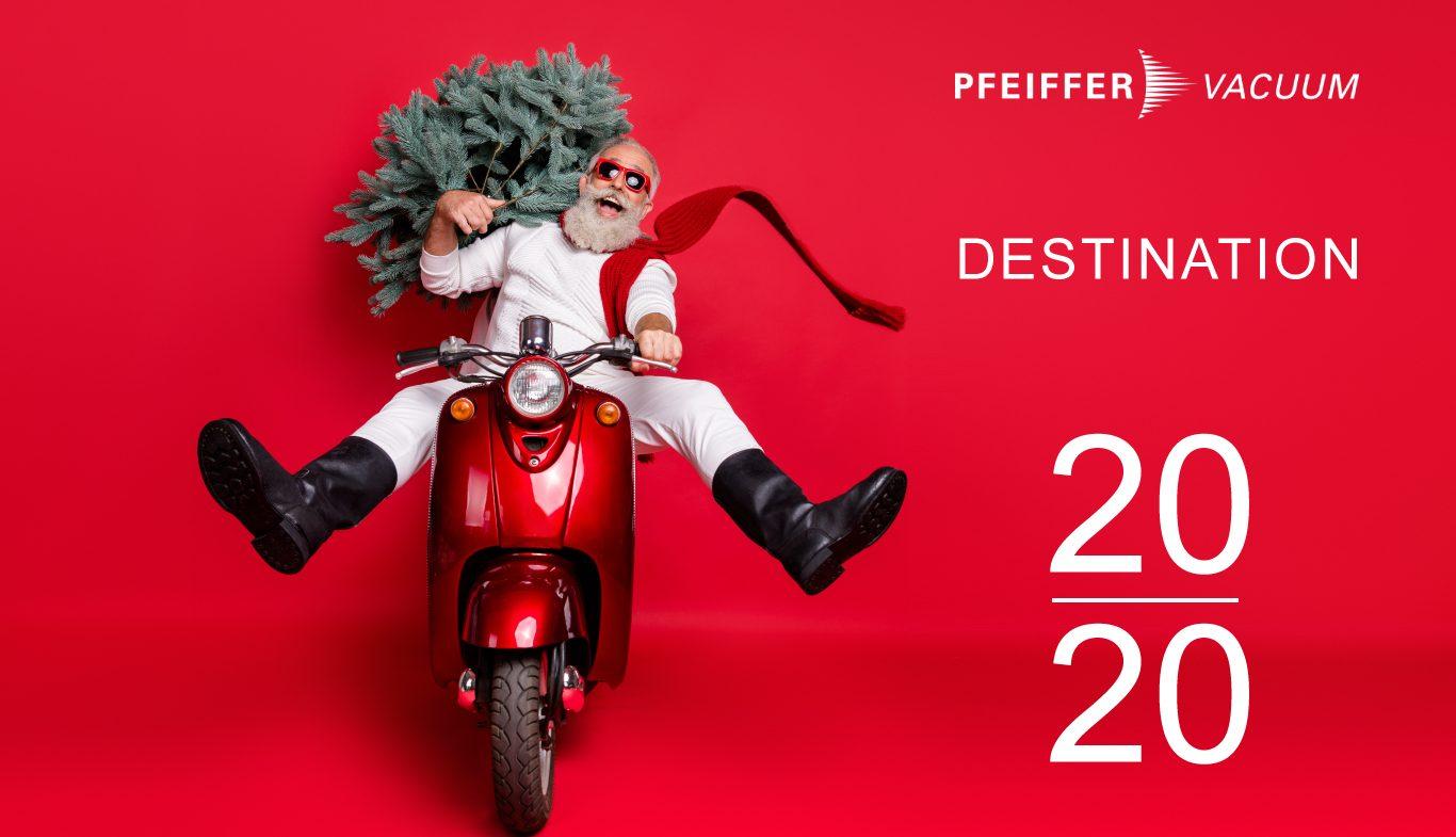 Pfeiffer Vacuum France Bonne Année 2020