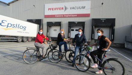 Pfeiffer Vacuum Challenge Mobilité