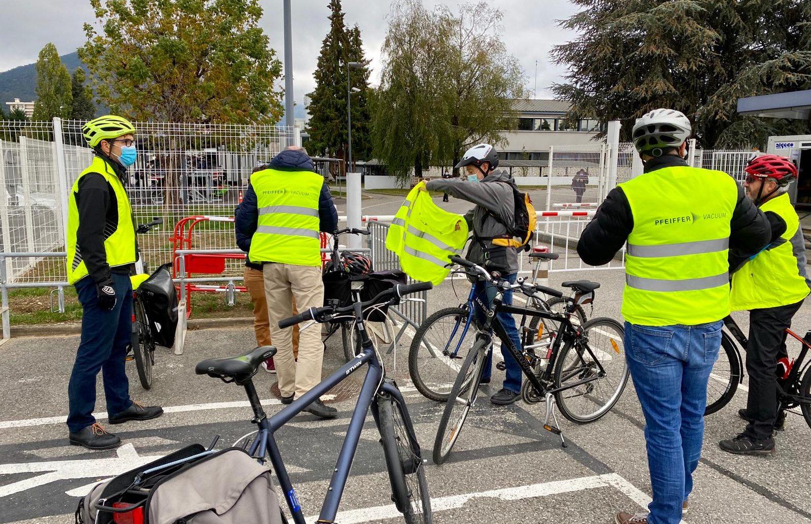 Mouvgreen Journée Securité à vélo