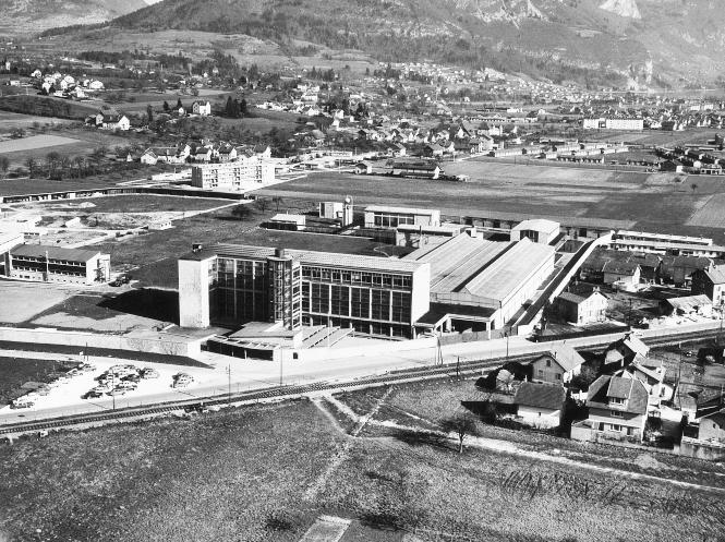 Pfeiffer Vacuum 1951 SACM Annecy