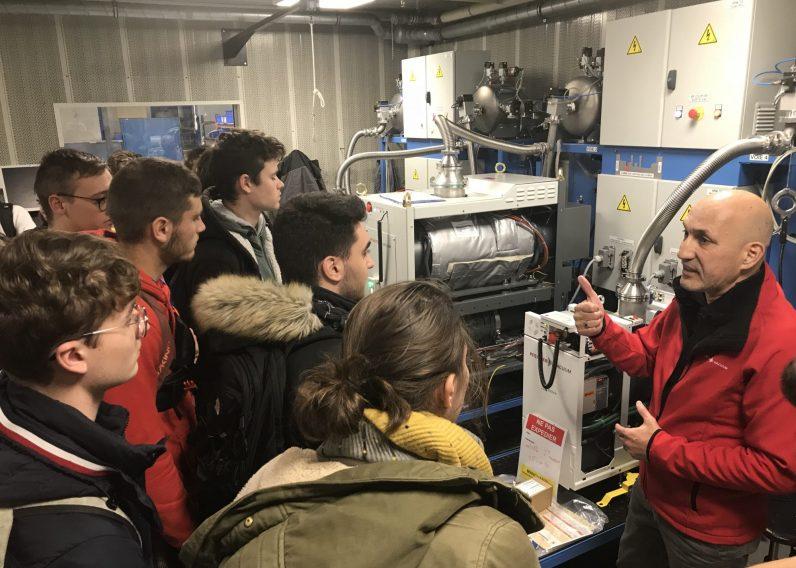 Pfeiffer VAcuum Annecy RSE Visite