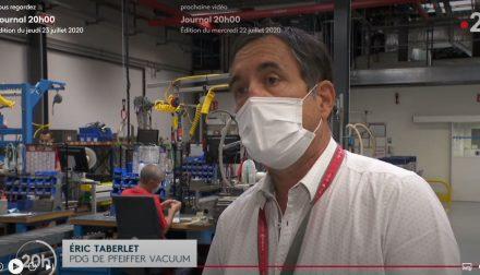 Pfeiffer Vacuum France Eric Taberlet Don Hopital