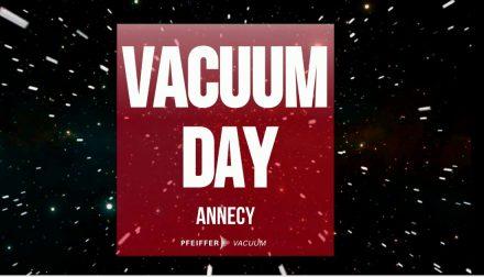 Vacuum Day Pfeiffer Vacuum France